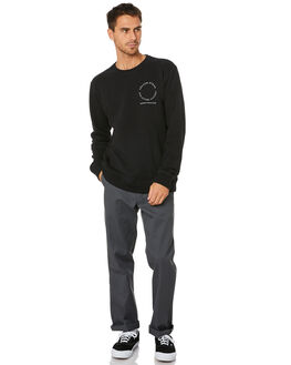 BLACK MENS CLOTHING VOLCOM JUMPERS - A4612002BLK