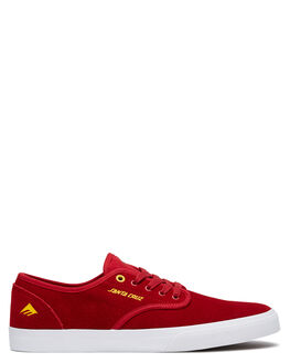 RED MENS FOOTWEAR EMERICA SNEAKERS - 6107000241616
