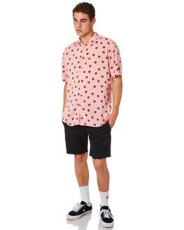 PINK BURGERS MENS CLOTHING BARNEY COOLS SHIRTS - 302-CR4PNKBG