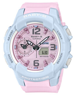 PINK WOMENS ACCESSORIES BABY G WATCHES - BGA-230PC-2BDRPNK