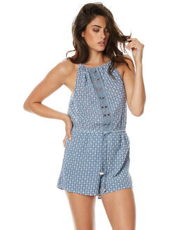 PYRITE WOMENS CLOTHING TIGERLILY PLAYSUITS + OVERALLS - T371430PYR