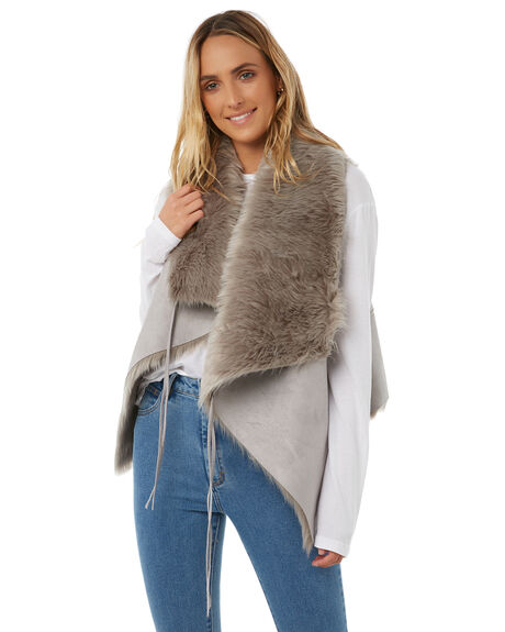 GREY WOMENS CLOTHING LILYA JACKETS - SHV03-CHLAW18GRY