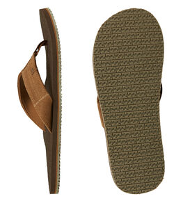 CHOCOLATE MENS FOOTWEAR BILLABONG THONGS - BB-9607950-CHC
