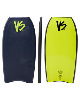 MIDNIGHT YELLOW SURF BODYBOARDS VS BODYBOARDS BOARDS - V18WIMOTION41MBMDYLW