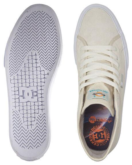 WHITE/ORANGE MENS FOOTWEAR DC SHOES SNEAKERS - ADYS300657-WOR