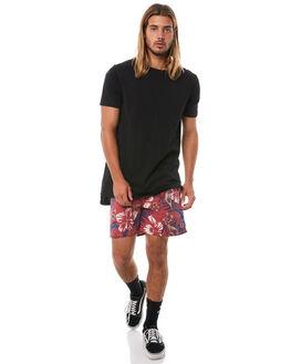 BURGUNDY MENS CLOTHING INSIGHT BOARDSHORTS - 5000000874BUR