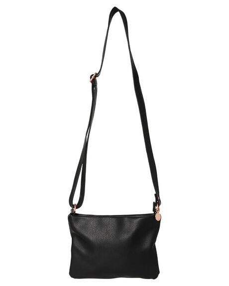 BLACK WOMENS ACCESSORIES RUSTY BAGS + BACKPACKS - BFL0965BLK