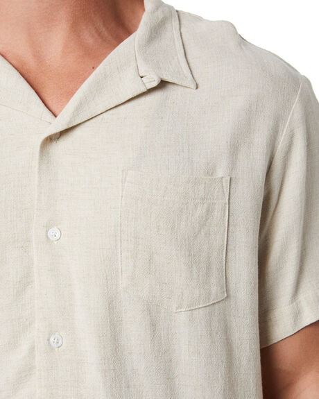 NATURAL MENS CLOTHING STAY SHIRTS - SSH-20405NAT