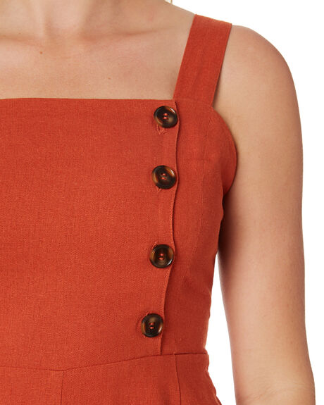 RUST OUTLET WOMENS SWELL PLAYSUITS + OVERALLS - S8182451RUST