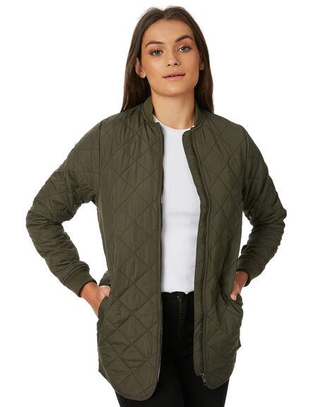 OLIVE WOMENS CLOTHING AFENDS JACKETS - W182580OLI