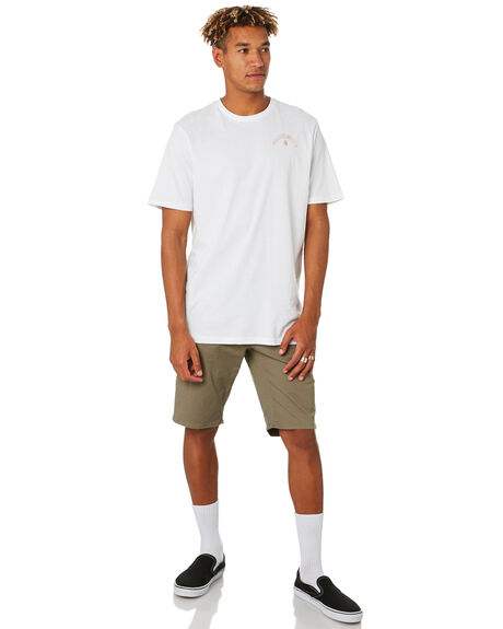 WHITE OUTLET MENS VOLCOM TEES - A5001916WHT