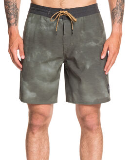 AGAVE GREEN MENS CLOTHING QUIKSILVER BOARDSHORTS - EQYBS04279-GZC6