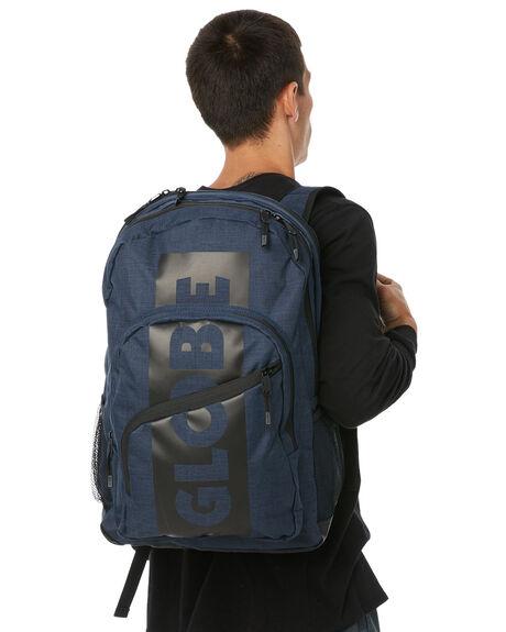 INDIGO MENS ACCESSORIES GLOBE BAGS + BACKPACKS - GB71619016IND