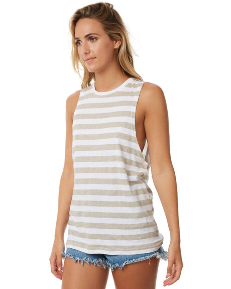 SAND WOMENS CLOTHING TEE INK SINGLETS - CAST005ASAN