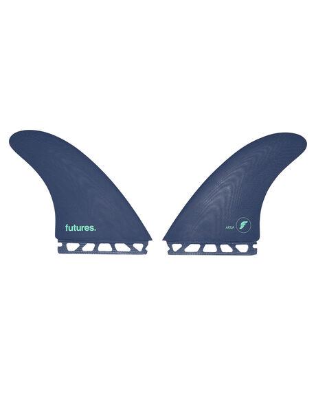 BLUE MINT BOARDSPORTS SURF FUTURE FINS FINS - FAA-010205BMINT