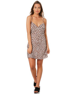 LEOPARD WOMENS CLOTHING TIGERLILY DRESSES - T392493LEO