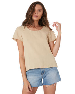 SAND WOMENS CLOTHING SWELL FASHION TOPS - S8201024SAND