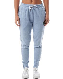 BLUE MELANGE WOMENS CLOTHING SANTA CRUZ PANTS - SC-WPA8569BLUE