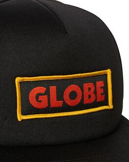 BLACK MENS ACCESSORIES GLOBE HEADWEAR - GB71819014BLK