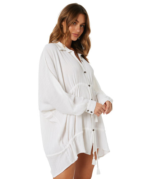 IVORY WOMENS CLOTHING TIGERLILY DRESSES - T602400IVY