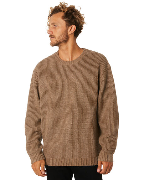 SHELL MENS CLOTHING RUSTY KNITS + CARDIGANS - CKM0329SHE