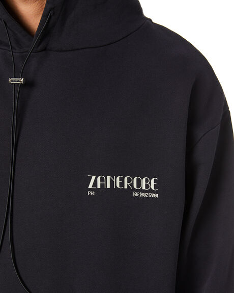 BLACK MENS CLOTHING ZANEROBE JUMPERS - 406-FLDIBLK