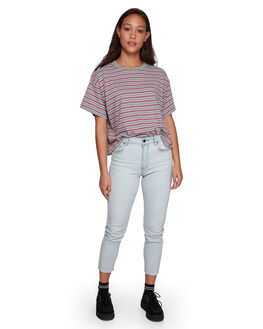 BLEACHOUT WOMENS CLOTHING RVCA JEANS - RV-R207222-1BO
