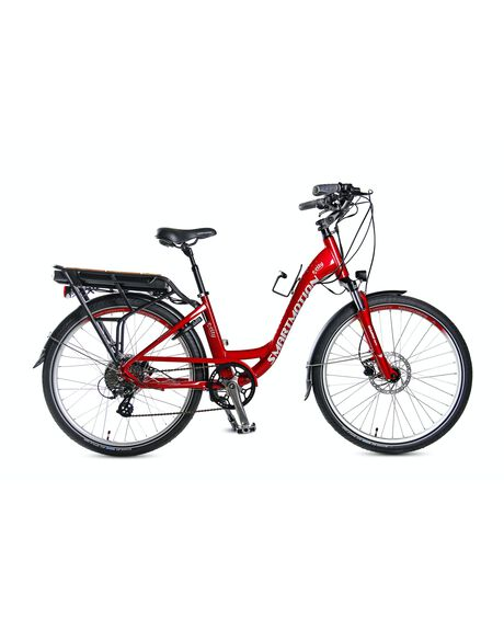 RED OUTDOOR RIDE SMART MOTION BIKES - SM_ECIT-1D3C