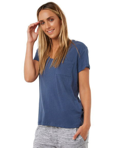 BLUE STEEL WOMENS CLOTHING RUSTY TEES - TTL0863BST