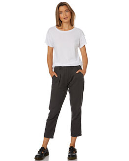 FADED BLACK WOMENS CLOTHING THRILLS PANTS - WTS8-402FBBLK