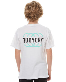 WHITE KIDS BOYS ZOO YORK TEES - ZY-YTC7128WHI