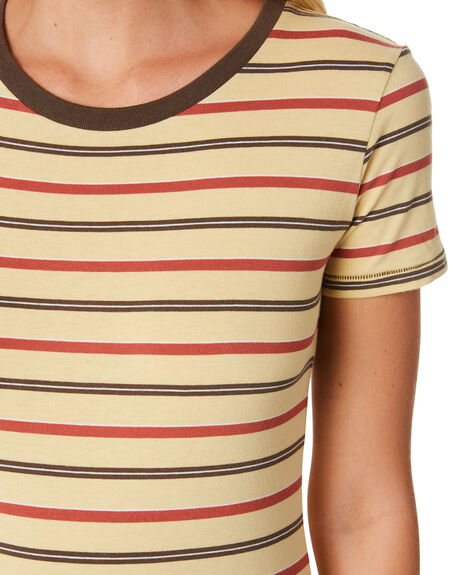 STRIPE OUTLET WOMENS THE HIDDEN WAY TEES - H8182001STRIP