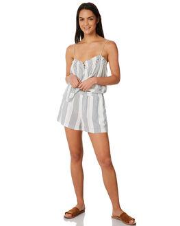 NAVY STRIPE WOMENS CLOTHING ELWOOD FASHION TOPS - W84313NVY