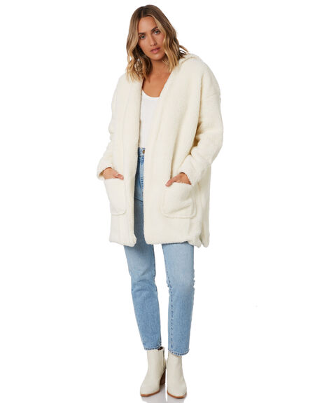 WHITE OUTLET WOMENS TOBY HEART GINGER JACKETS - THGC724-1KWHT
