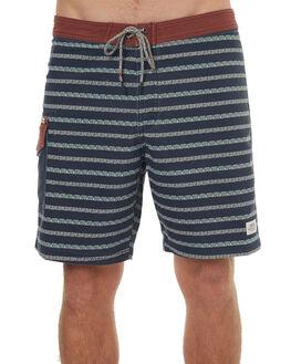 NAVY MENS CLOTHING KATIN BOARDSHORTS - TRPOISS17NVY