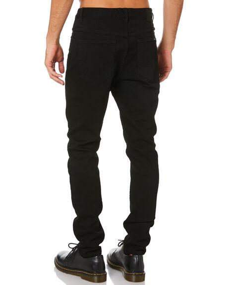 JET BLACK MENS CLOTHING INSIGHT JEANS - 1000079235JTBLK