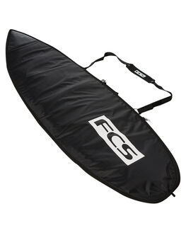 STEEL BLACK WHITE BOARDSPORTS SURF FCS BOARDCOVERS - BCL-AP-BKWSBLKW