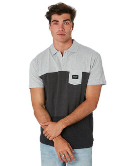 BLACK MENS CLOTHING RIP CURL SHIRTS - CPLCW10090