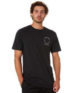 BLACK MENS CLOTHING VOLCOM TEES - A5012070BLK
