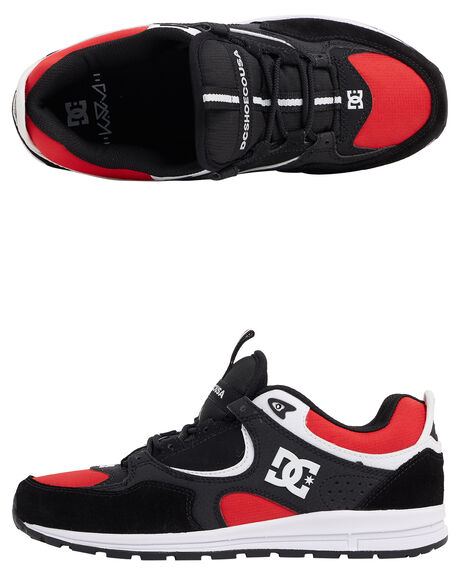 293ccf00d04e BLACK RED WHITE MENS FOOTWEAR DC SHOES SNEAKERS - ADYS100291-KAW