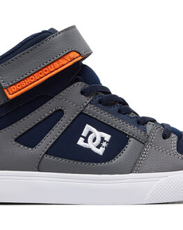 ANTIQUE WHITE SMALL KIDS BOYS DC SHOES SNEAKERS - ADBS300324-GN2