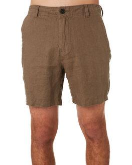 OLIVE MENS CLOTHING ACADEMY BRAND SHORTS - 20S607OLI