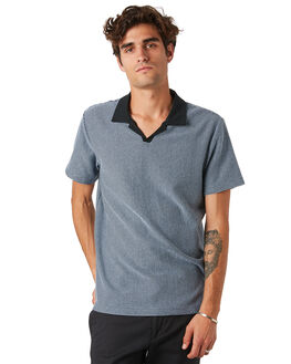 FADED BLUE MENS CLOTHING RHYTHM SHIRTS - JAN20M-CT10-BLU
