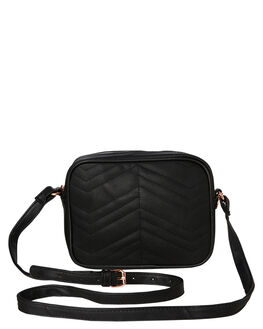 BLACK WOMENS ACCESSORIES RUSTY BAGS + BACKPACKS - BFL1012BLK