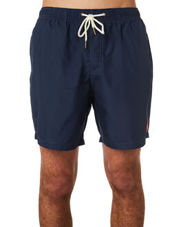 NAVY MENS CLOTHING DEUS EX MACHINA BOARDSHORTS - DMP62002NVY