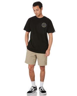 BLACK MENS CLOTHING SALTY CREW TEES - 20035289BLK