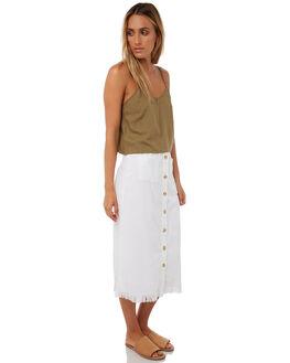 WHITE WOMENS CLOTHING BILLABONG SKIRTS - 6585524WHT