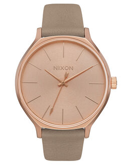 ROSE GOLD GRAY WOMENS ACCESSORIES NIXON WATCHES - A12502239