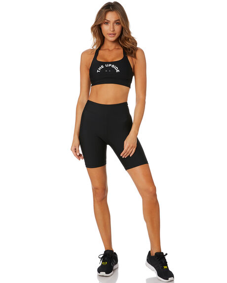 BLACK WOMENS CLOTHING THE UPSIDE ACTIVEWEAR - USW020025BLK