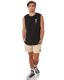 BLACK MENS CLOTHING INSIGHT SINGLETS - 5000000847BLK